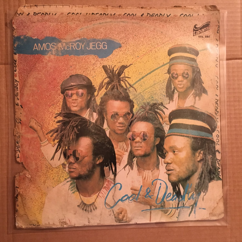 AMOS McROY JEGG LP cool & deadly NIGERIA REGGAE BOOGIE FUNK mp3 LISTEN