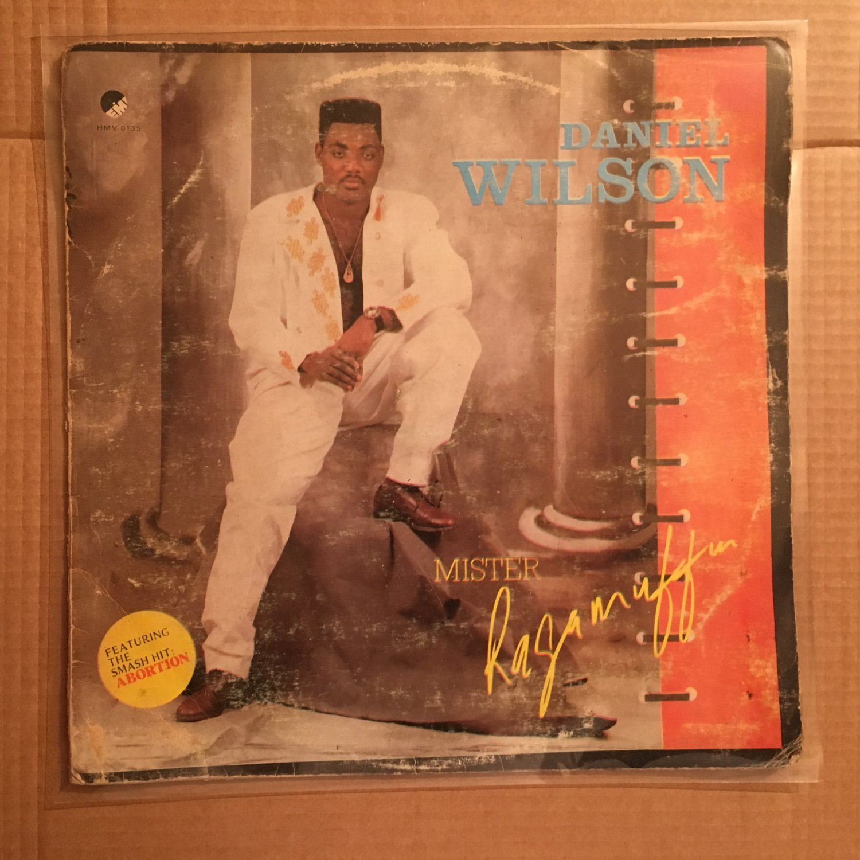 DANIEL WILSON LP mr ragamuffin NIGERIA REGGAE mp3 LISTEN