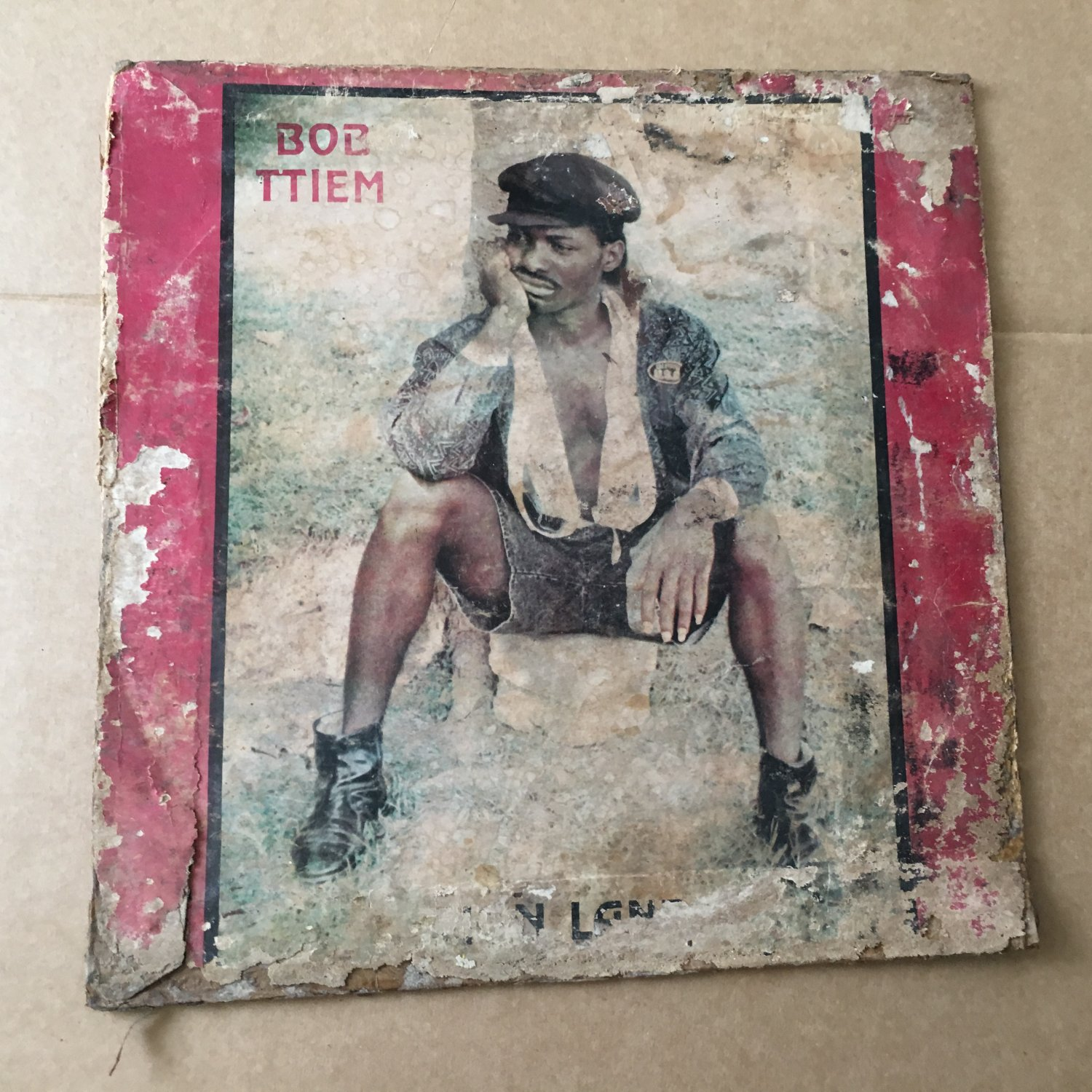 DE ROCKS led by BOB TTIEM LP zion land RARE NIGERIA REGGAE mp3 LISTEN