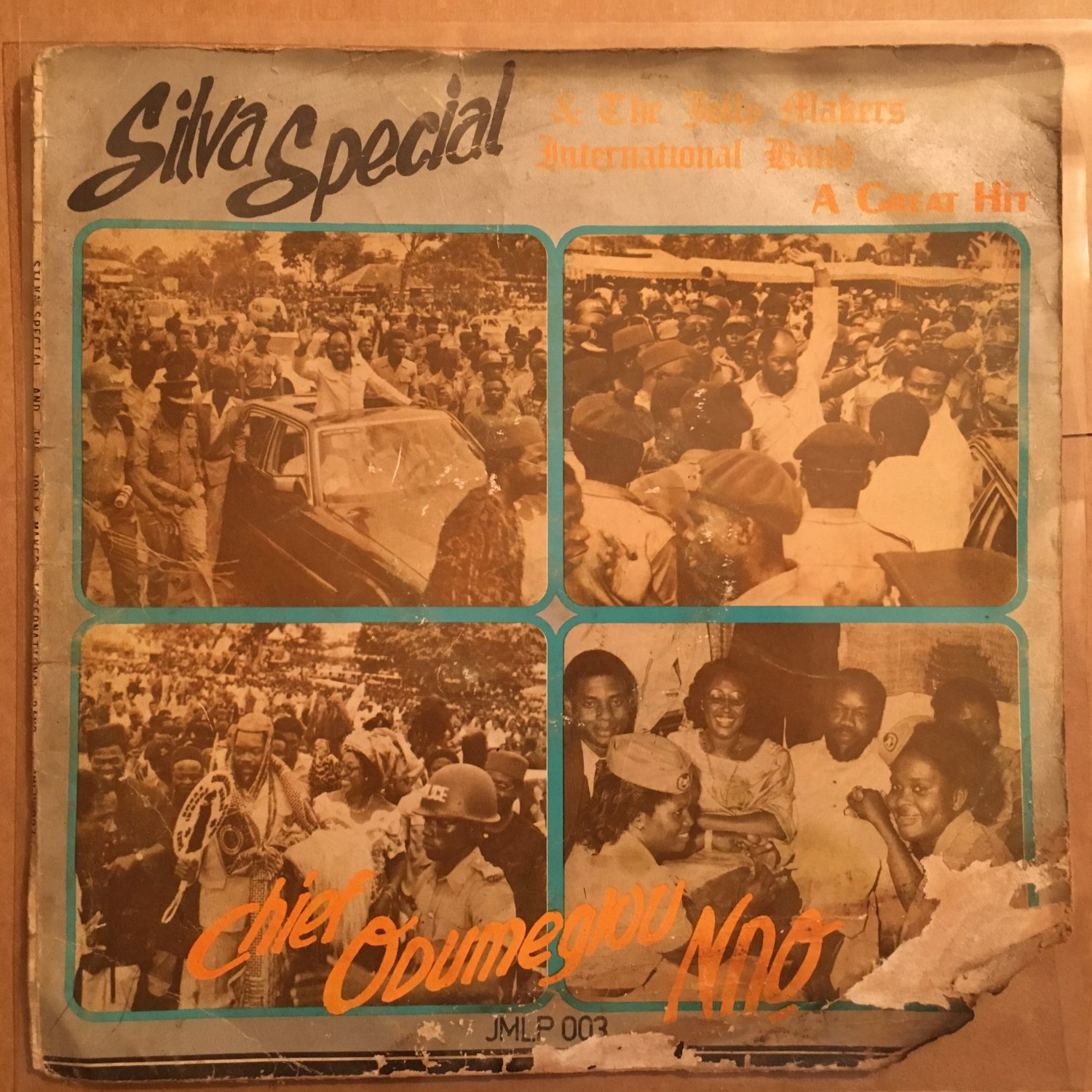 SILVA SPECIAL & THE JOLLY MAKERS INT. BAND LP Chief NIGERIA HIGHLIFE mp3 LISTEN