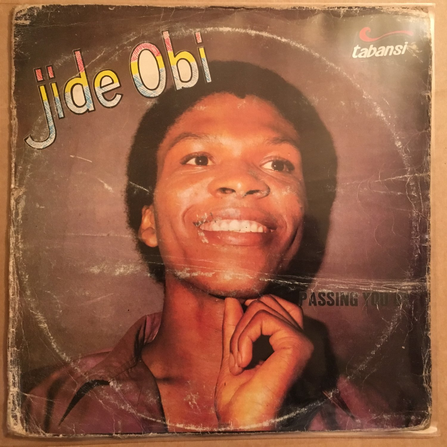 JIDE OBI LP passing you by AFRO BOOGIE FUNK NIGERIA mp3 LISTEN