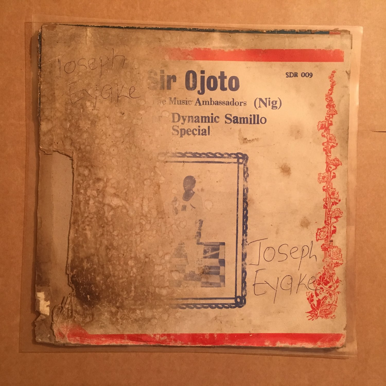SIR OJOTO & THE MUSIC AMBASSADORS LP dynamic samillo NIGERIA HIGHLIFE mp3 LISTEN