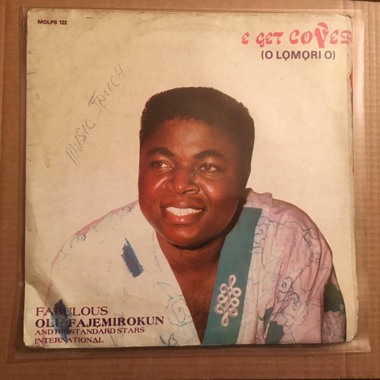 FABULOUS OLU FAJEMIROKUN & HIS STANDARS STARS INT. LP e got cover NIGERIA mp3 LISTEN