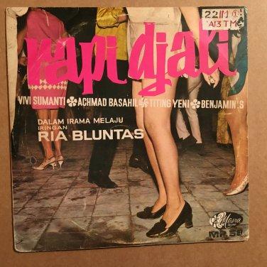 "IRAMA MELAJU IRINGAN RIA BLUNTAS 10"" rapi djali BENJAMIN BASHIL INDONESIA 60's mp3 LISTEN"