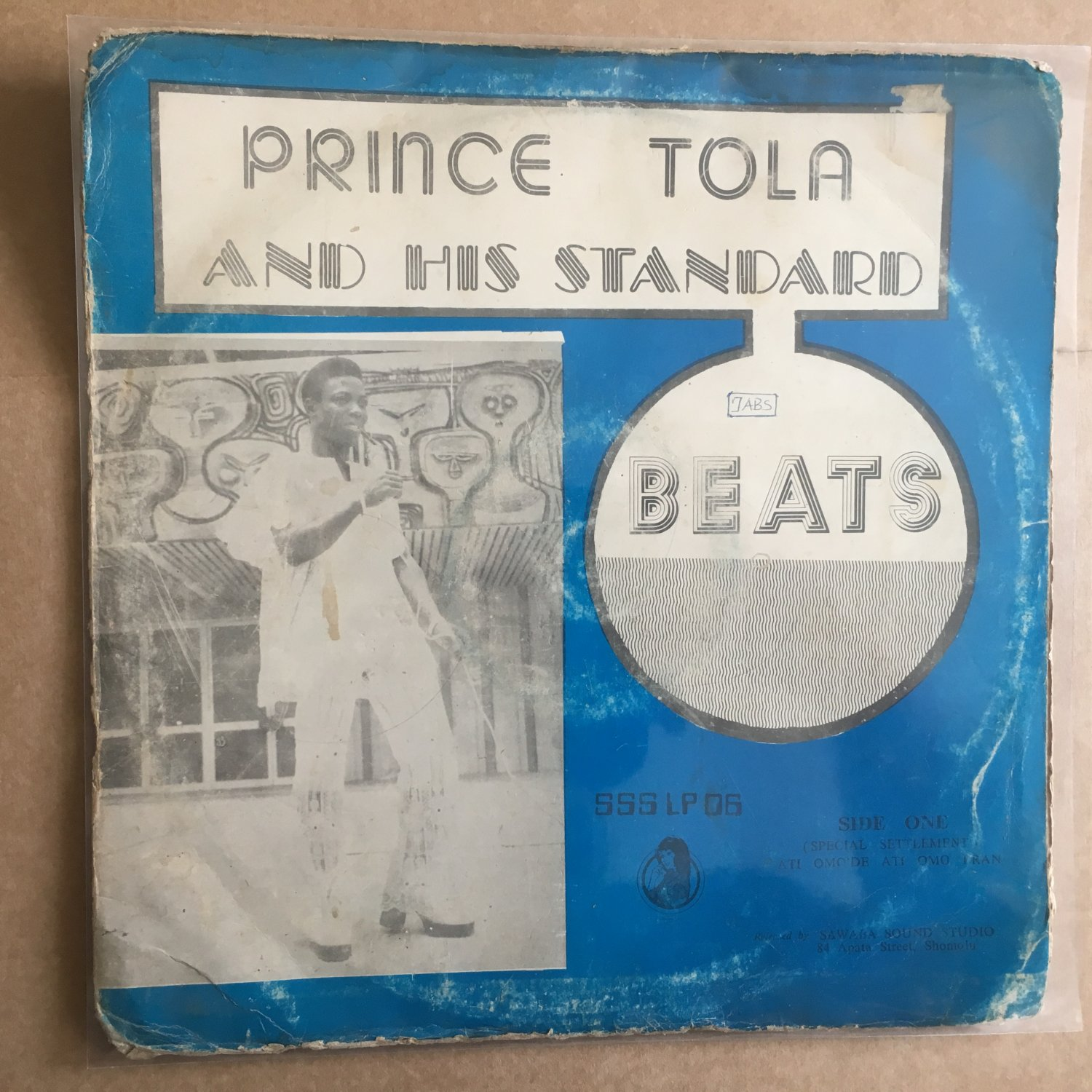 *PRINCE TOLA & HIS STANDART BEATS LP same NIGERIA mp3 LISTEN