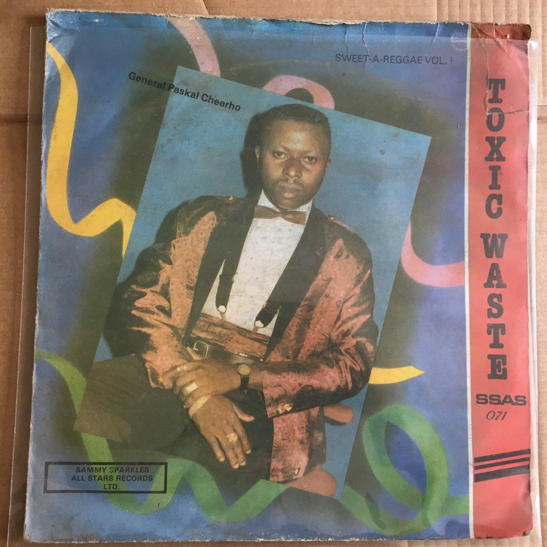 PASCHAL CHEEROH LP toxic waste NIGERIA OBSCURE REGGAE DIGITAL mp3 LISTEN