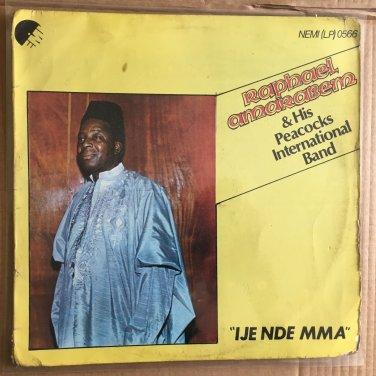 RAPHAEL AMARABEM & HIS PEACOCKS INT. LP ije nde mma NIGERIA mp3 LISTEN
