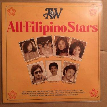 ALL FILIPINO STARS LP various PHILIPPINES SOUL JAZZ mp3 LISTEN