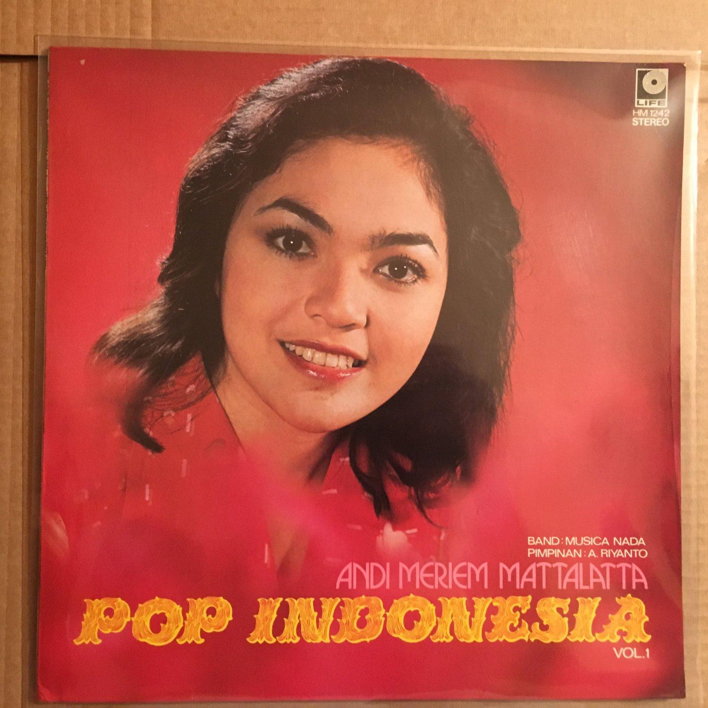 ANDI MERIEM MATTALATTA LP pop vol. I RARE INDONESIA BOSSA SOUL JAZZ mp3 LISTEN