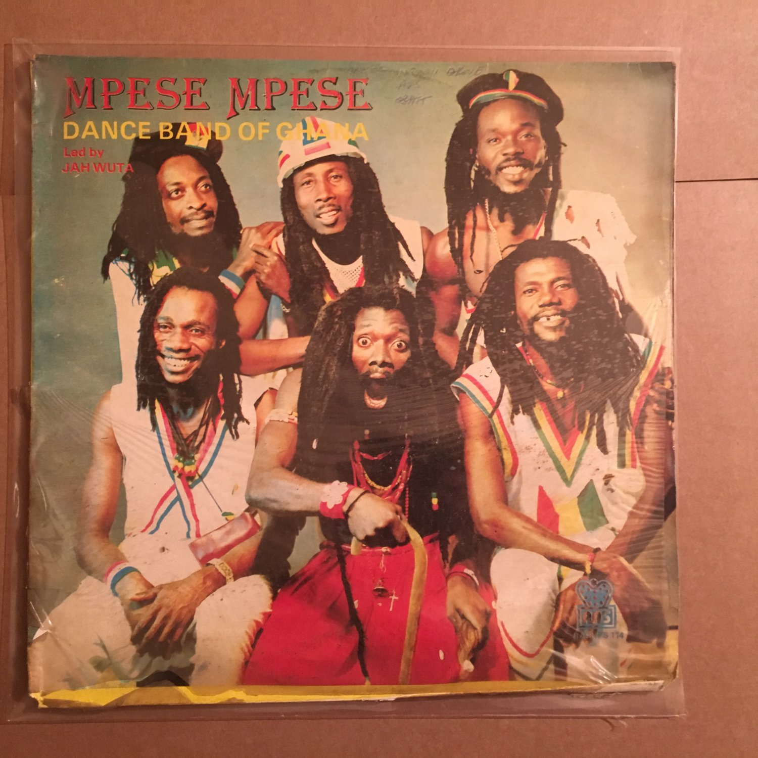 MPESE MPESE DANCE BAND led JAH WUTA LP same GHANA HIGHLIFE mp3 LISTEN