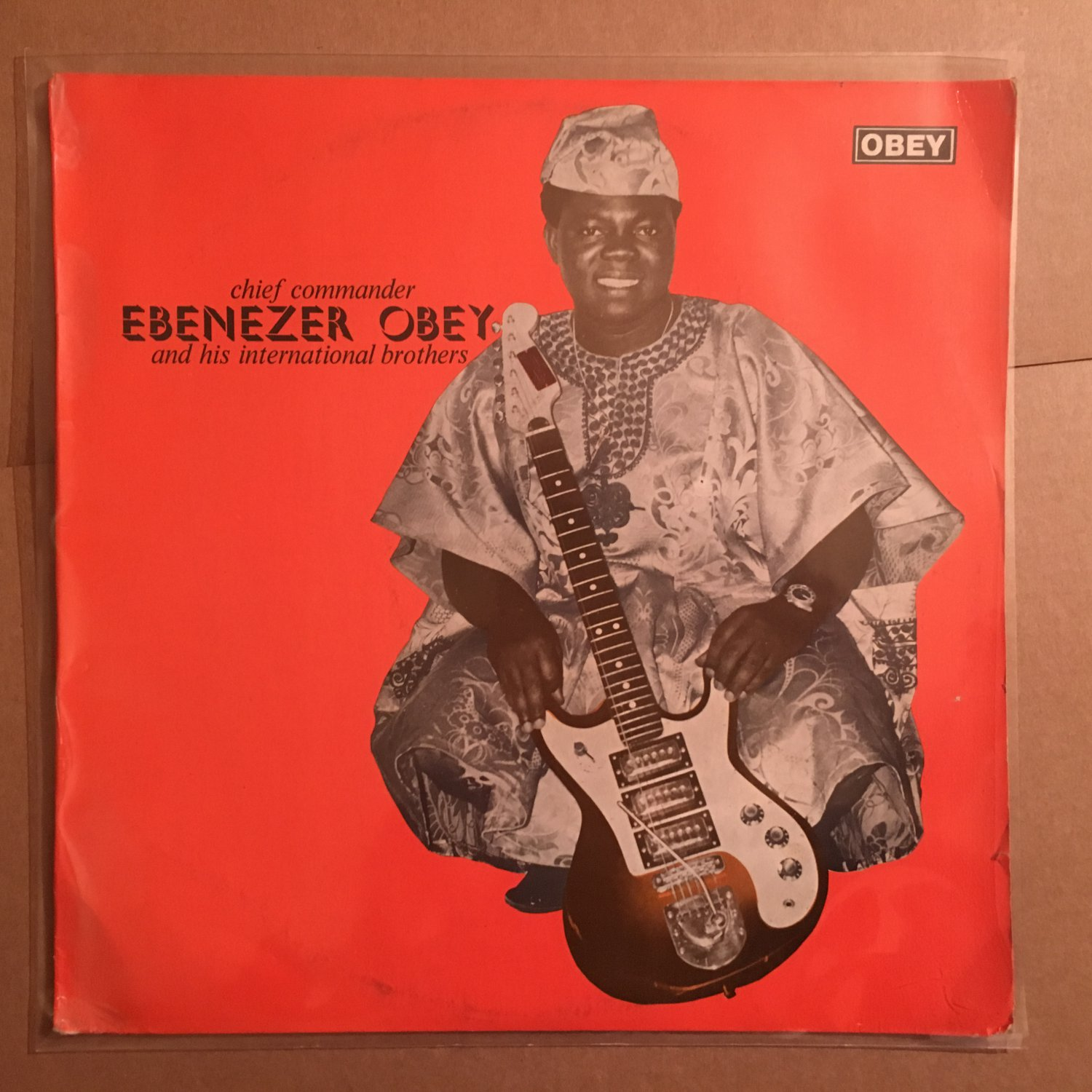 CHIEF COMMANDER OBEY & HIS INT. BROTHERS LP same NIGERIA mp3 LISTEN