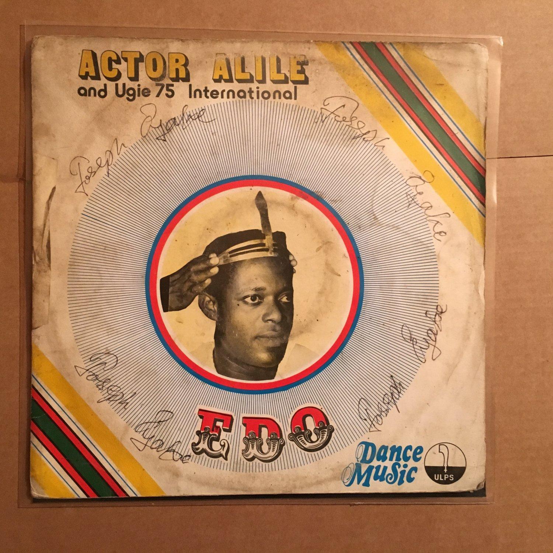 ACTOR ALILE & UGIE 75 INTERNATIONAL LP Same NIGERIA FUNKY