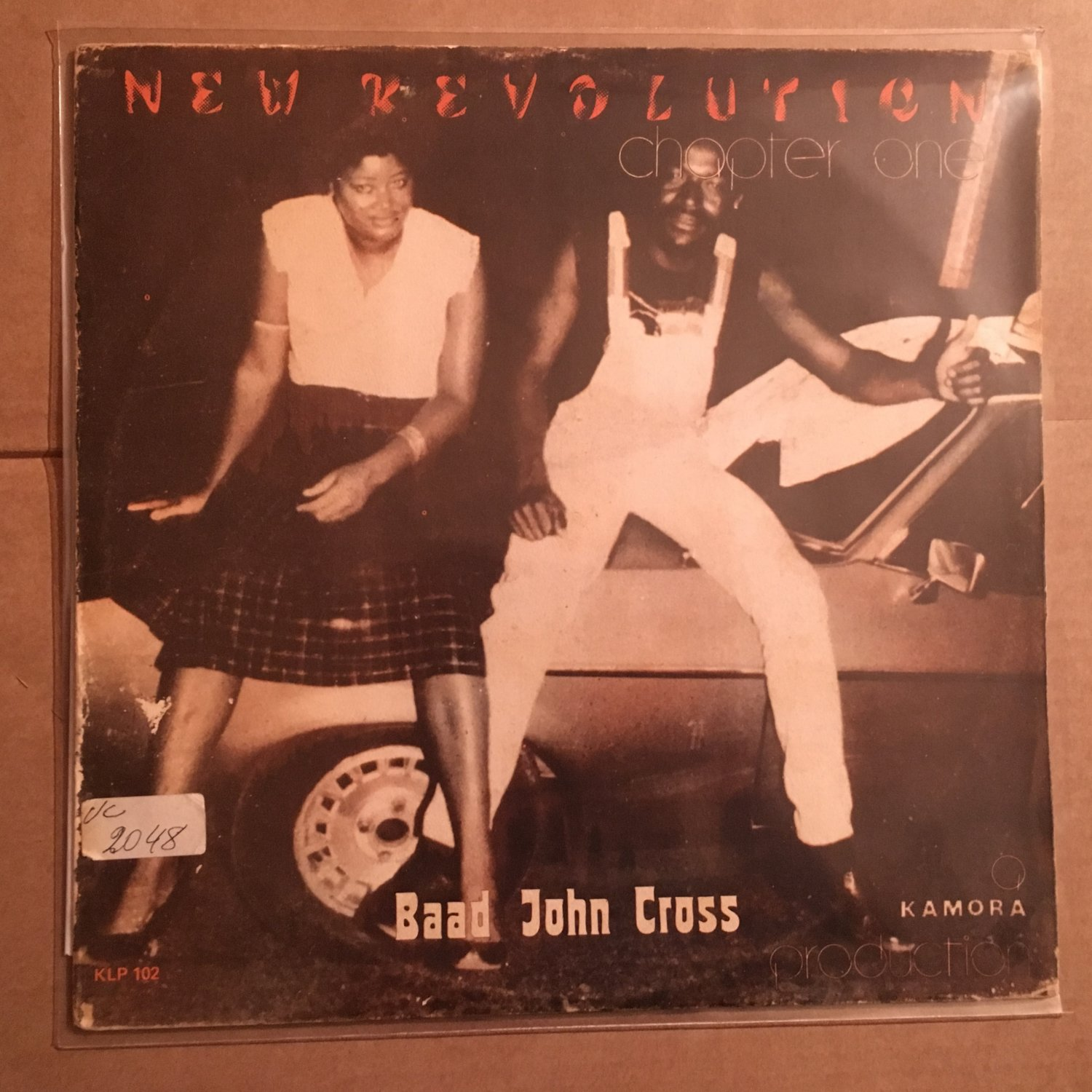 BAAD JOHN CROSS LP new revolution new chapter NIGERIA BOOGIE SYNTH ELECTRO FUNK mp3 LISTEN