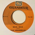 THE GRANDELLS 45 sha sha PHILIPPINES SOUL  mp3 LISTEN