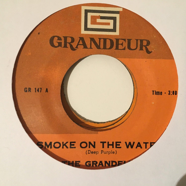 THE GRANDELLS 45 smoke on the water PHILIPPINES DEEP PURPLE mp3 LISTEN