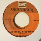 THE GRANDELLS 45 smoke on the water PHILIPPINES DEEP PURPLE mp3 LISTEN