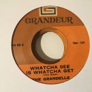 THE GRANDELLS 45 whatcha see is what you get PHILIPPINES SOUL DRAMATICS mp3 LISTEN