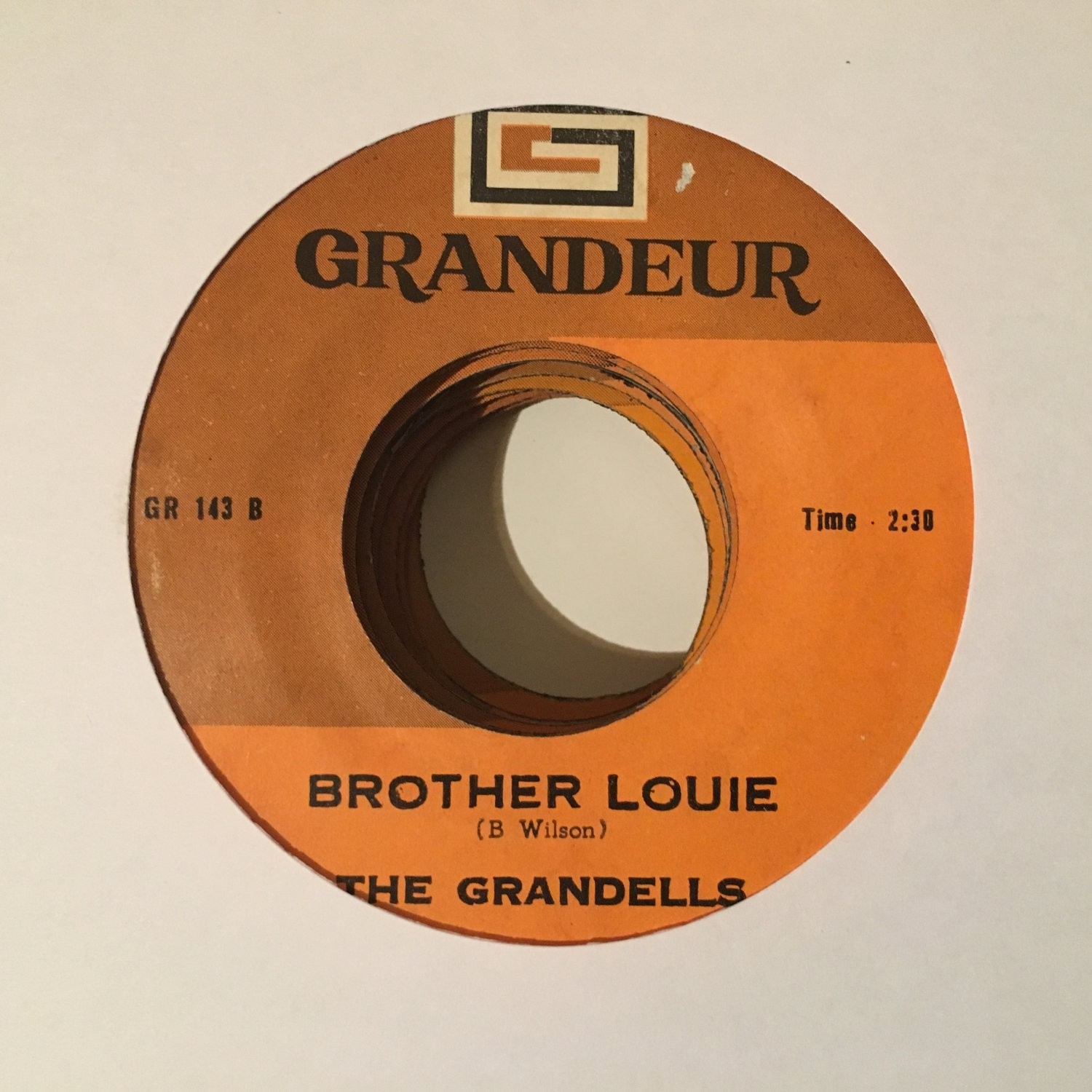 THE GRANDELLS 45 brother louie - over & over PHILIPPINES  mp3 LISTEN