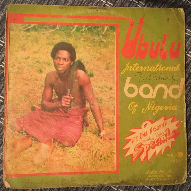 UBULU INT. BAND LP vol. 9 NIGERIA mp3 LISTEN