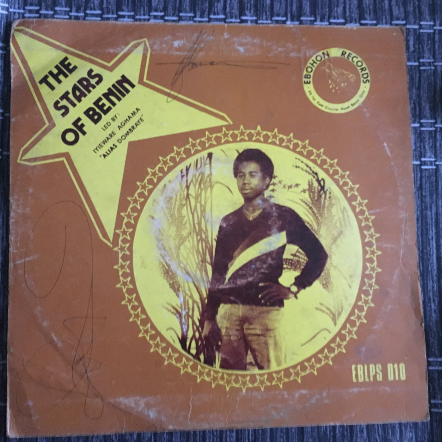 STARS OF BENIN leb by DOMBRAYE AGHAMA LP same NIGERIA mp3 LISTEN