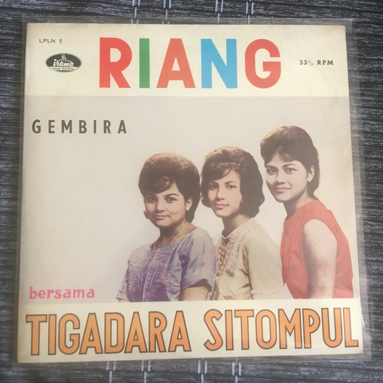 SITOMPUL BERSAUDARA LP riang INDONESIA 60's TIGADARA SITOMPUL