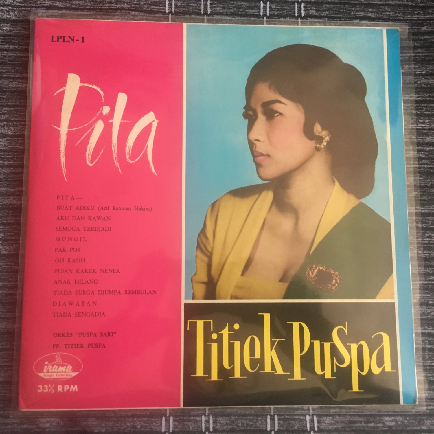 TITIEK PUSPA LP pita INDONESIA 60's GARAGE PSYCH IRAMA mp3 LISTEN