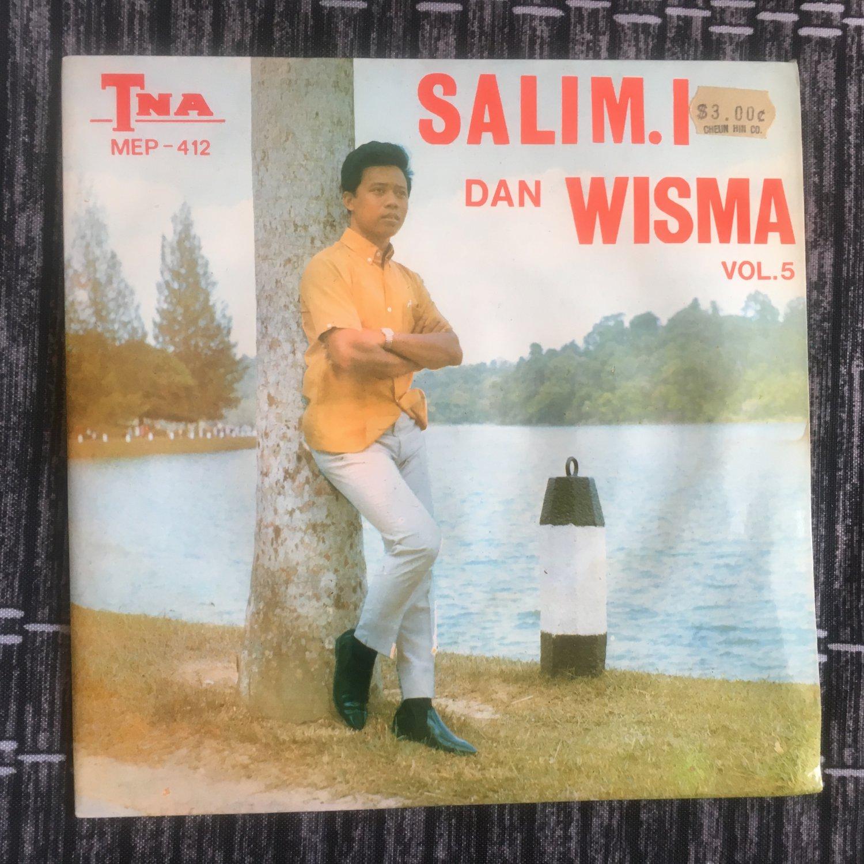 SALIM & WISMA 45 EP vol. 5 MALAYSIA 60's GARAGE mp3 LISTEN