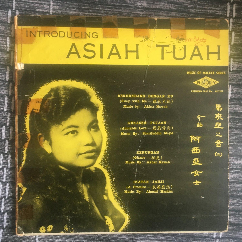 ASIAH TUAH 45 EP introducing RARE MALAYSIA EARLY 60s ? mp3 LISTEN