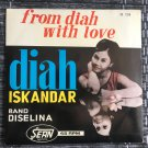 DIAH ISKANDAR BAND DISELINA 45 EP from Diah with love INDONESIA mp3 LISTEN