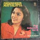 ANDI MERIEM MATTALATTA LP pop vol. II RARE INDONESIA BOSSA SOUL JAZZ mp3 LISTEN