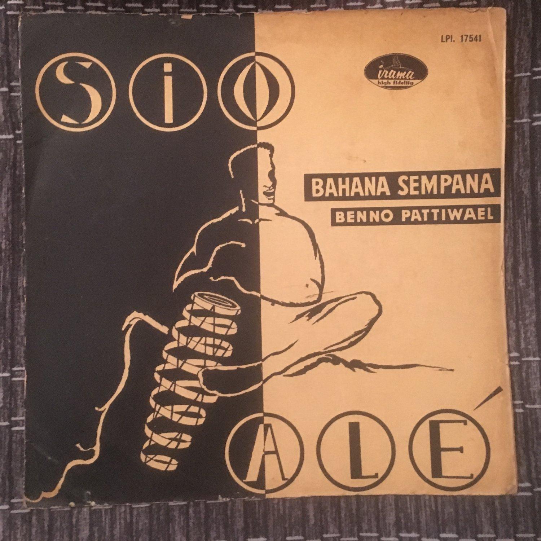 BENNO PATTIWAEL & ORKES BAHANA SEMPANA LP sio ale RARE INDONESIA 60s LATIN mp3 LISTEN