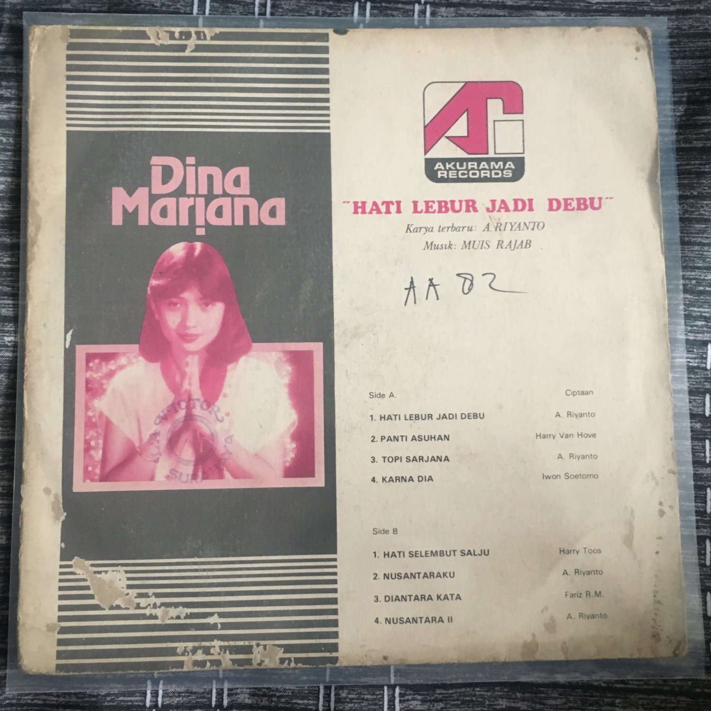 DINA MARIANA LP hati lebur jadi debu INDONESIA SOUL FUNK mp3 LISTEN FARIZ RM
