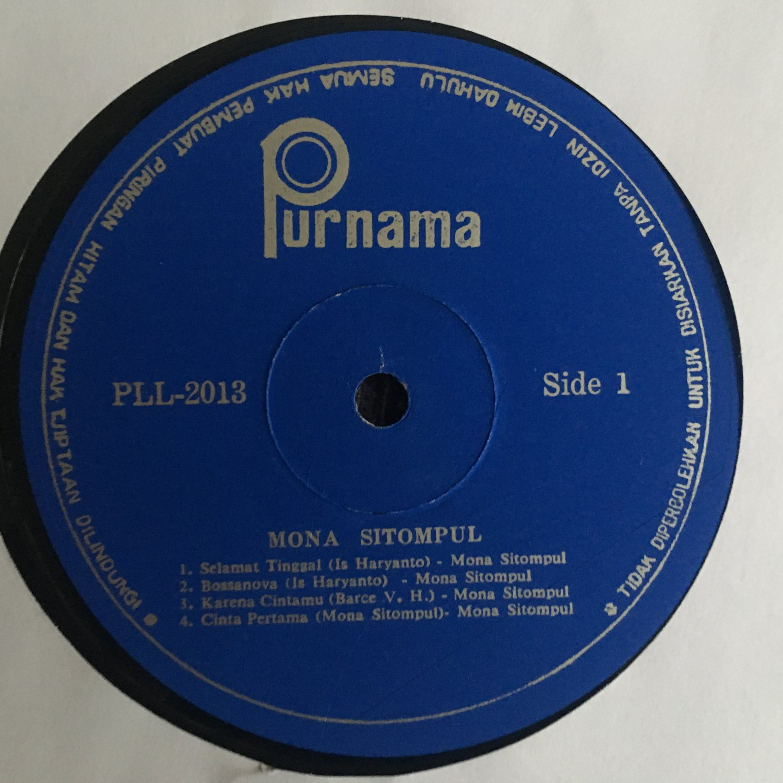 MONA SITOMPUL LP selamat tinggal INDONESIA FUNKY POP mp3 LISTEN