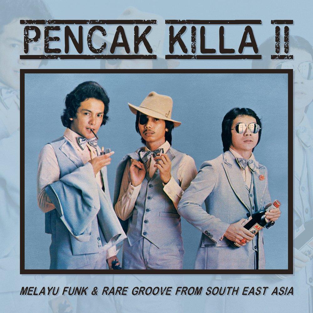 PENCAK KILLA LP vol.2 SOUTH ASIA SOUL -DEEP FUNK -AOR -MODERN SOUL -DISCO- BREAKS SEALED mp3 LISTEN