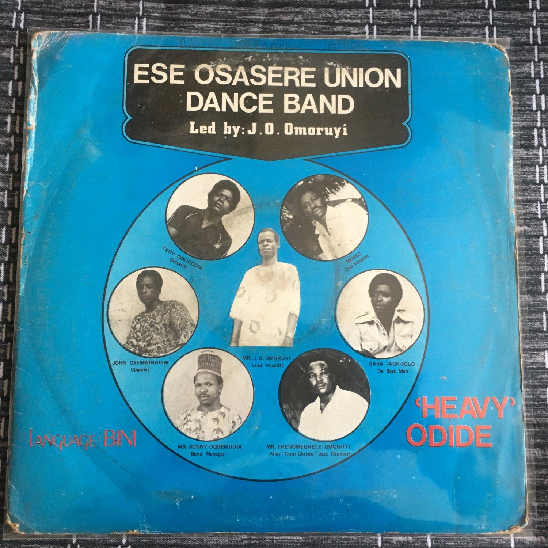 ESE OSASERE UNION DANCE BAND LP heavy odide NIGERIA mp3 LISTEN