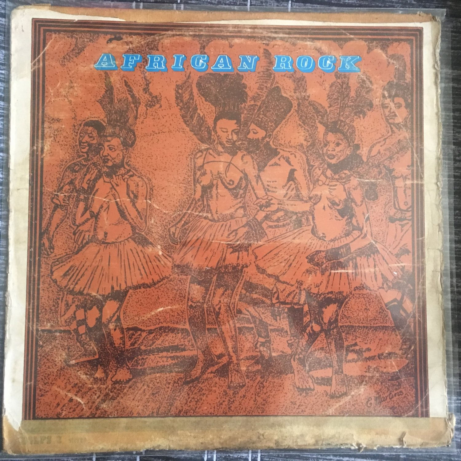 AFRICAN ROCK LP various KENYA BENGA mp3 LISTEN