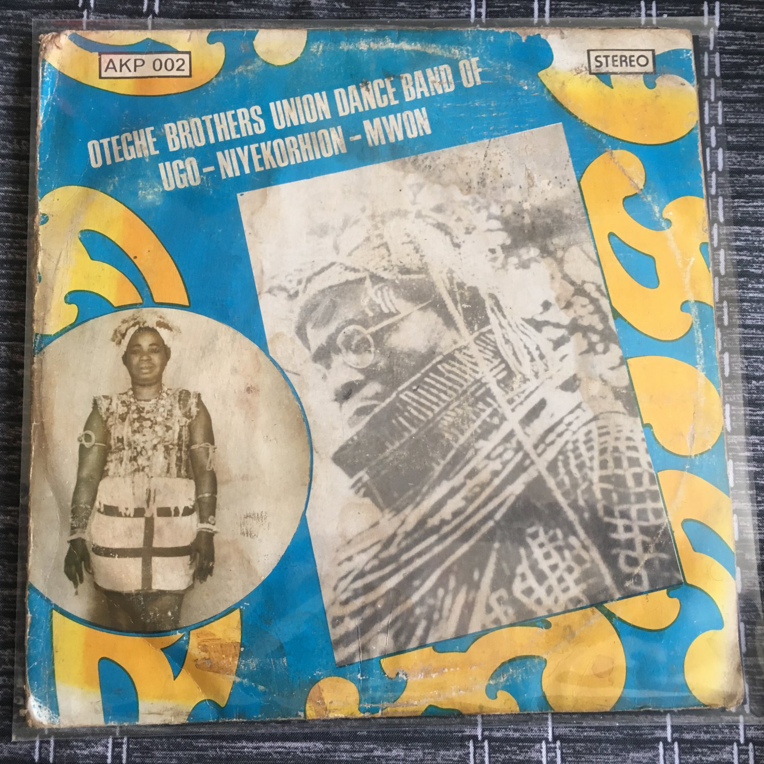 OTEGHE BROTHERS UNION DANCE BAND LP same NIGERIA mp3 LISTEN