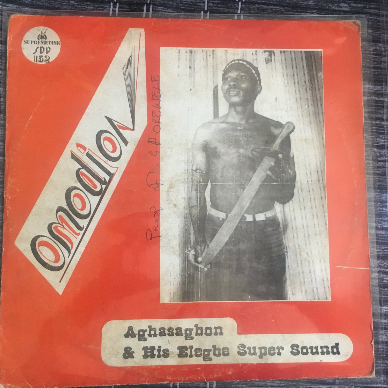 AGHASAGBON & HIS ELEGBE SUPER SOUND LP omodion NIGERIA mp3 LISTEN
