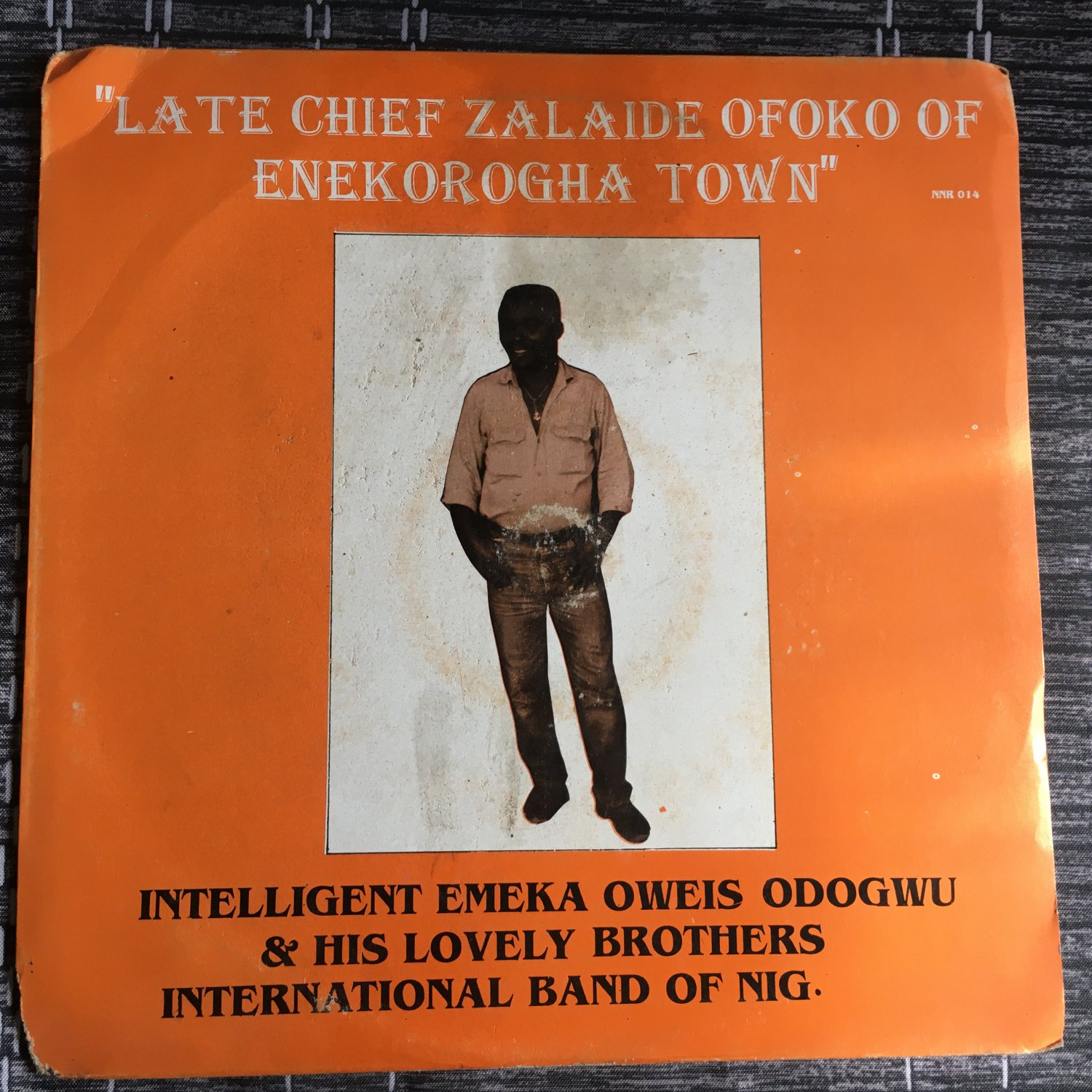 INTELLIGENT EMEKA ODOGWU LP late chief Zalaide NIGERIA HIGHLIFE mp3 LISTEN