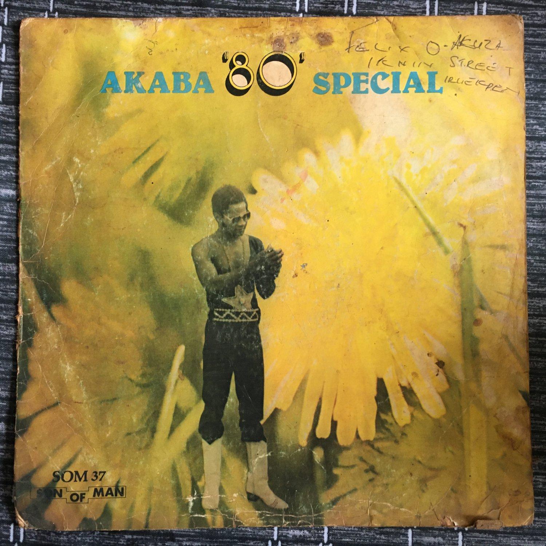 AKABA MAN LP special 80 NIGERIA EDO FUNK HIGHLIFE mp3 LISTEN