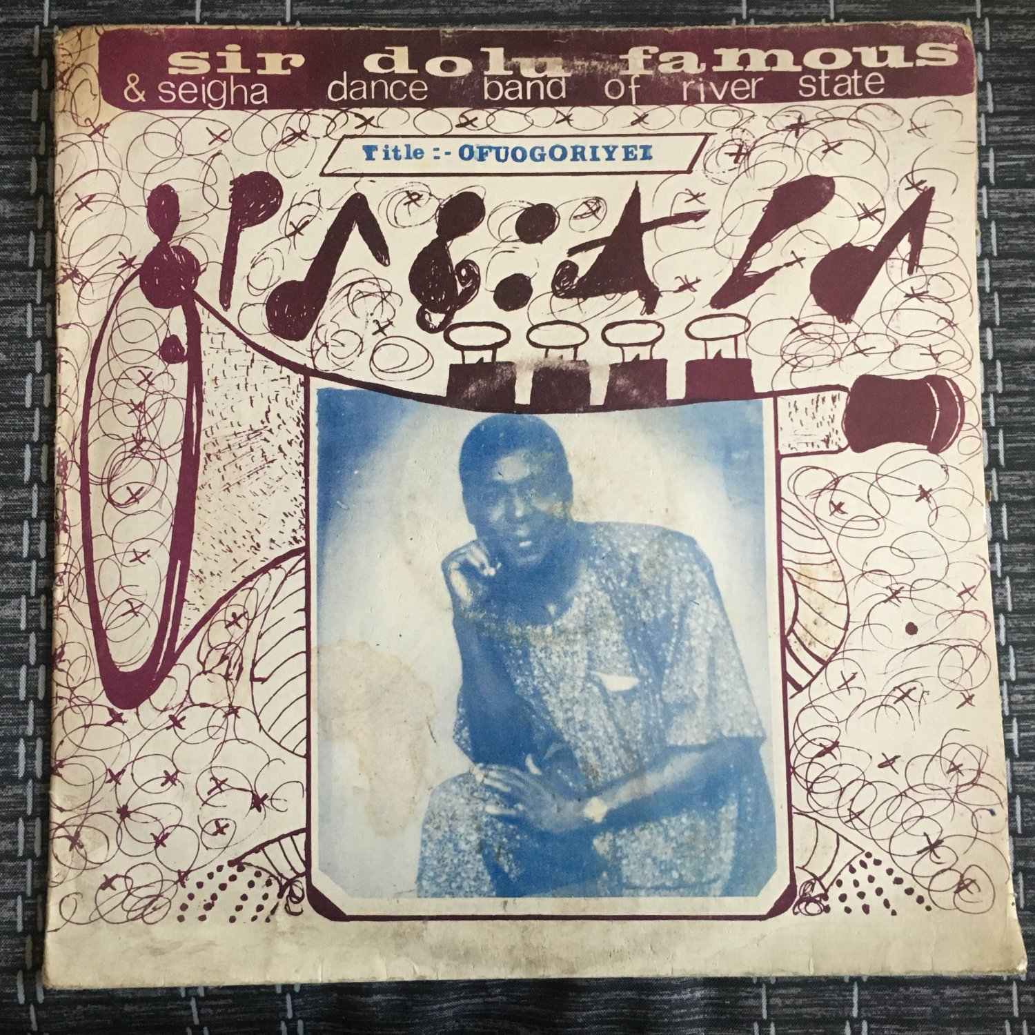SIR DOLU FAMOUS & SEIGHA DANCE BAND OF RIVER STATE LP ofuogoriyei NIGERIA mp3 LISTEN