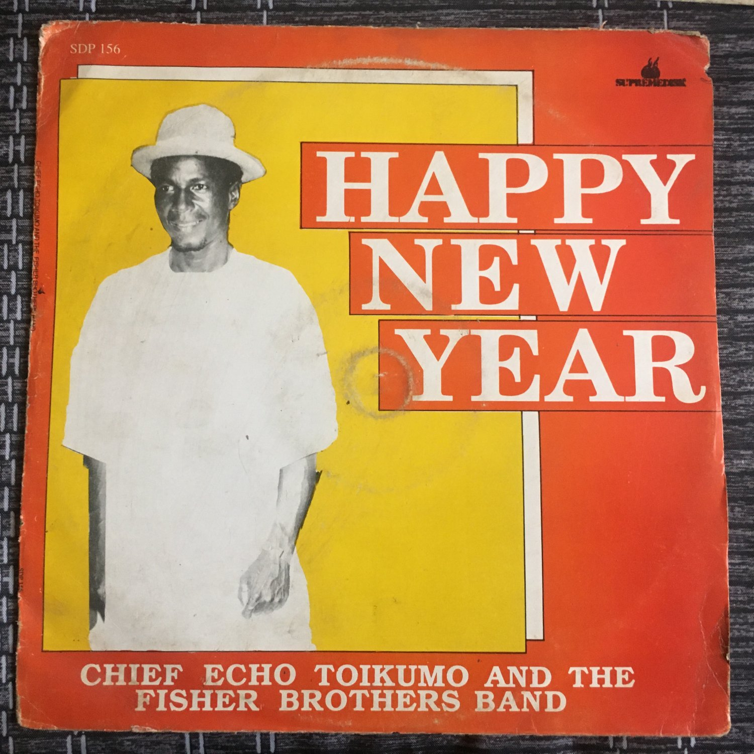 *CHIEF ECHO TOIKUMO & THE FISHER BROTHERS BAND LP happy new year NIGERIA HIGHLIFE mp3 LISTEN