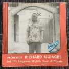 PROFESSOR UGIAGBE & HIS INDIGENOUS HIGH LIFE BAND LP aghade NIGERIA mp3 LISTEN