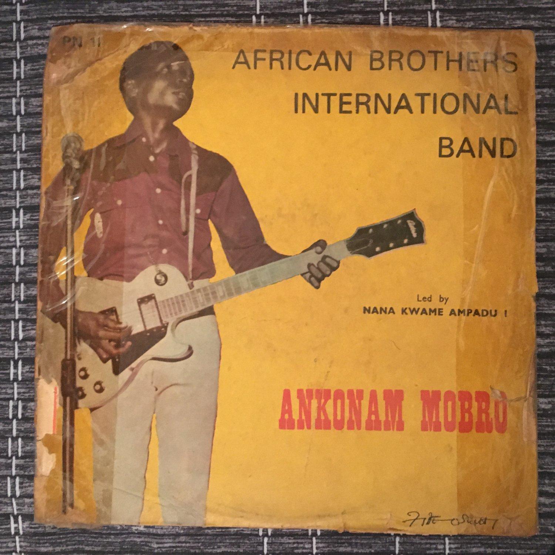 AFRICAN BROTHERS INT. LP ankonam mobro GHANA AFRO FUNK mp3 LISTEN