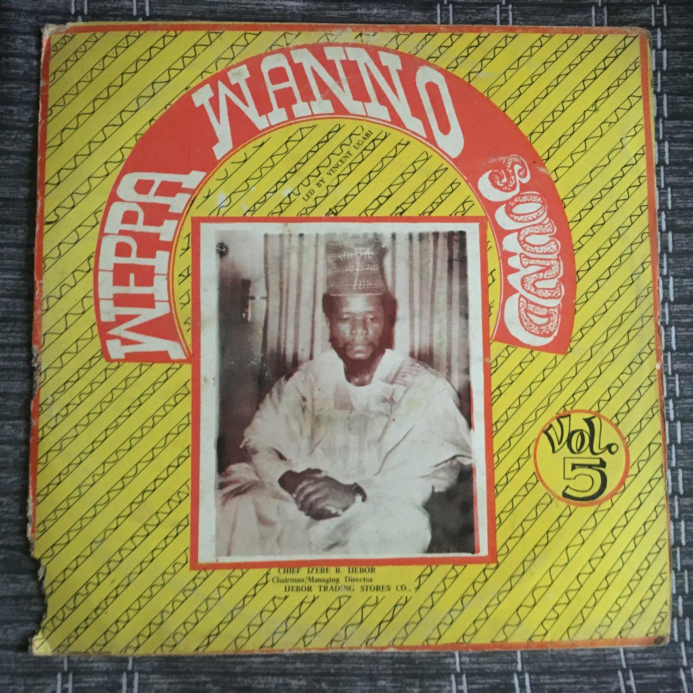 VINCENT UGABI & WEPPA WANNO SOUND LP vol. 5 NIGERIA ETSAKOR HIGHLIFE mp3 LISTEN IJEBOR