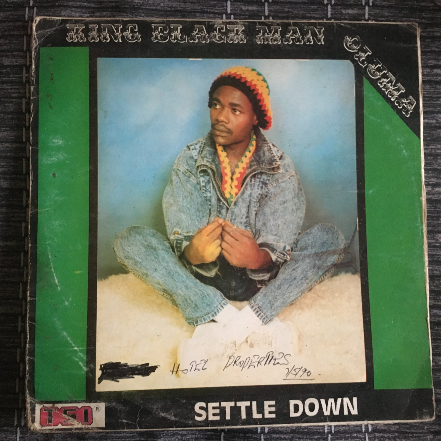 KING BLACK MAN OLUMA LP settle down NIGERIA REGGAE mp3 LISTEN
