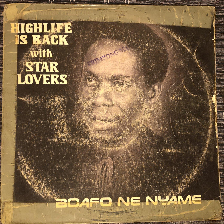 STAR LOVERS LP boafo ne nyame GHANA BOOGIE FUNK FRIMPONG mp3 LISTEN