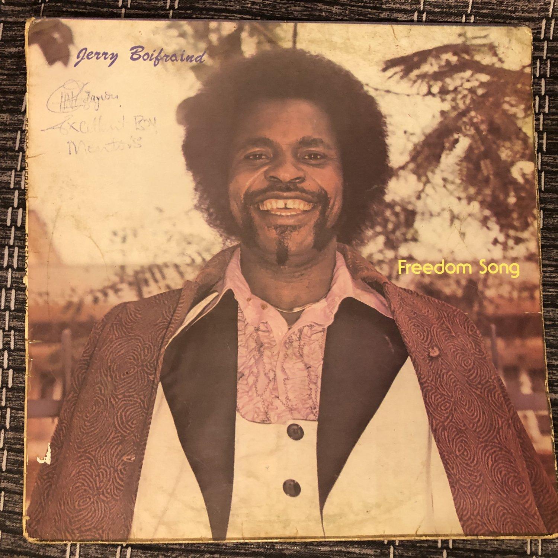 JERRY BOIFRAIND LP freedom song NIGERIA DISCO FUNK mp3 LISTEN