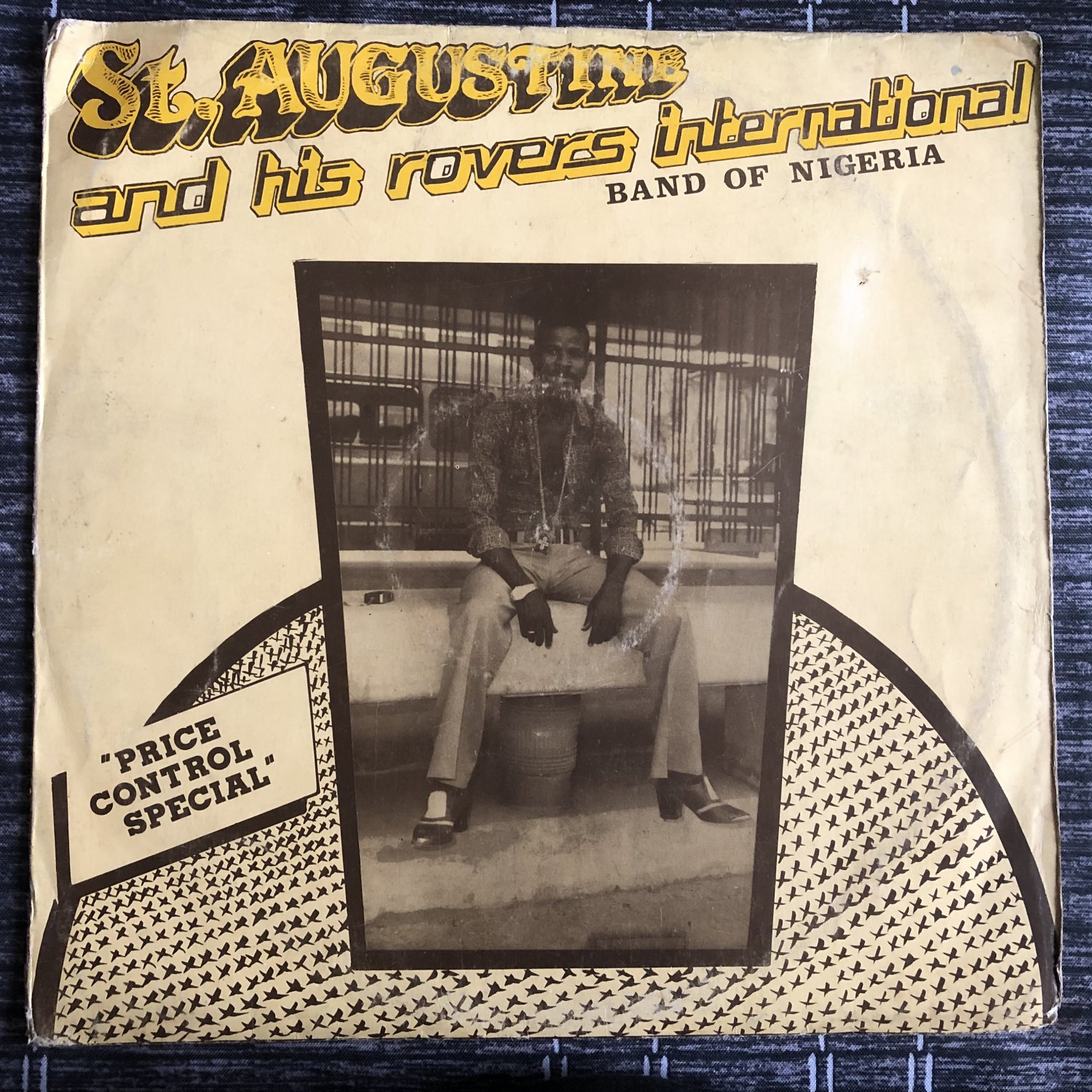 ST AUGUSTINE & HIS ROVERS INT. BAND LP price control special NIGERIA mp3 LISTEN