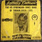 ANTHONY COCKSON & HIS OYADONGHA DANCE BAND LP vol 1 NIGERIA mp3 LISTEN